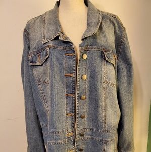 Venezia Demin Jacket Size 22/24 Plus Size Denim